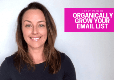 5 Easy Ways To Organically Grow Your Email List
