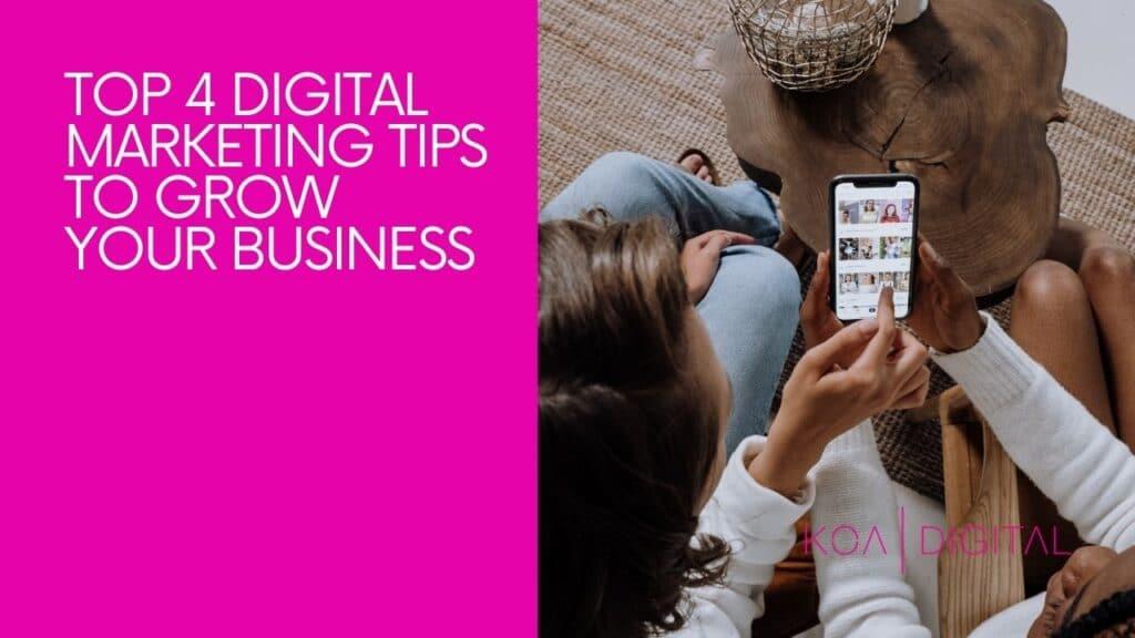 top digital marketing tips